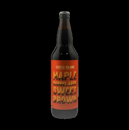 Maple Barrel Aged Sweet Brown bottle
