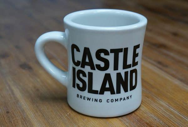 Castle Island coffee mug