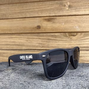 Castle Island branded sunglasses