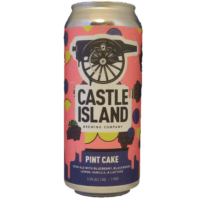 Pint Cake dessert sour ale can