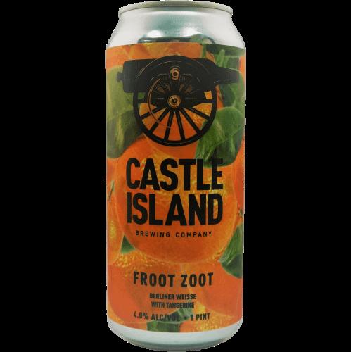 Froot Zoot: Tangerine beer can