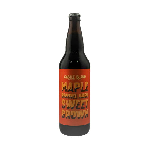 Maple Barrel Aged Sweet Brown bottle