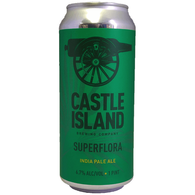 Superflora IPA beer can